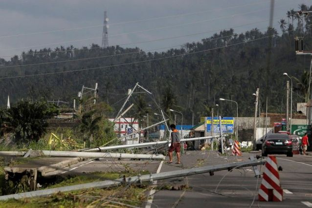 Death toll in Philippine typhoon rises to 10 as storm moves off