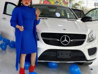 Bobrisky Spoils Himself With A New Mercedes Benz Ahead Of His Birthday (Video)