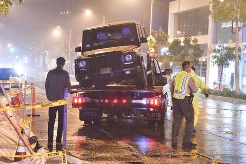 Taye Diggs Survives G-Wagon Crash