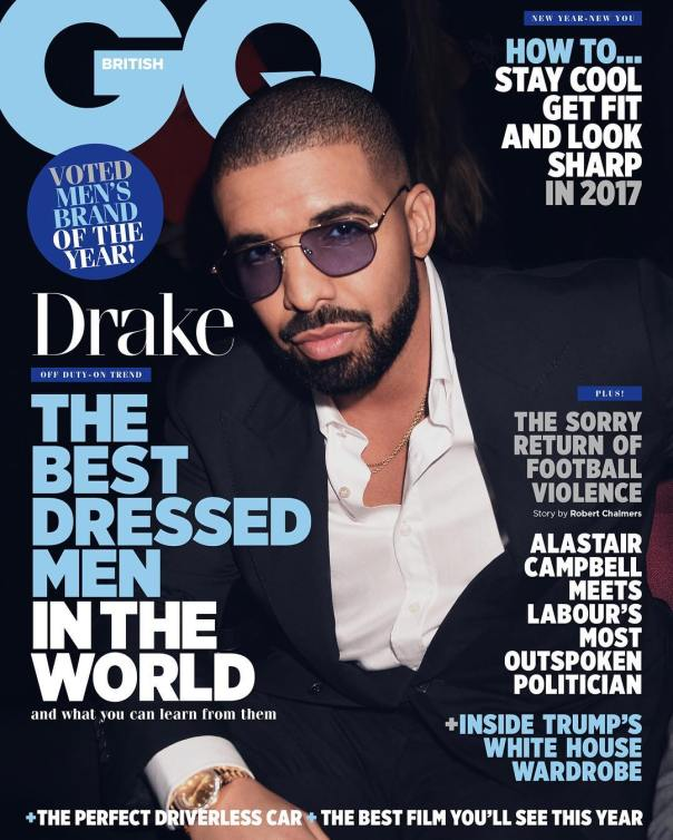 Drake Covers British GQ And Wins Best Dressed Award For 2016