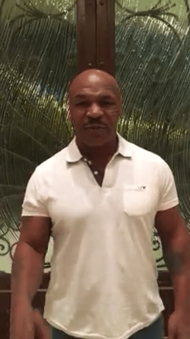 Mike Tyson Posts Video Confirming He Will Train Chris Brown In Fight Against Soulja Boy