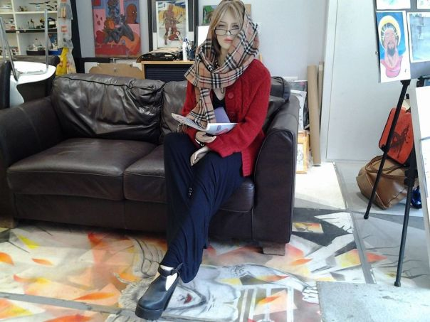 Six-Foot-Tall Sex Doll That Scared Away Thieves From Robbing An Art Shop