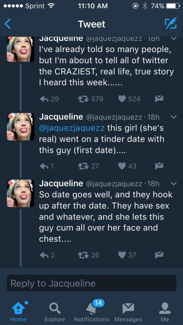Twitter User Jacqueline Narrates CRAZIEST Story On Woman Who Had Sex With Her Tinder Date And Developed Rash