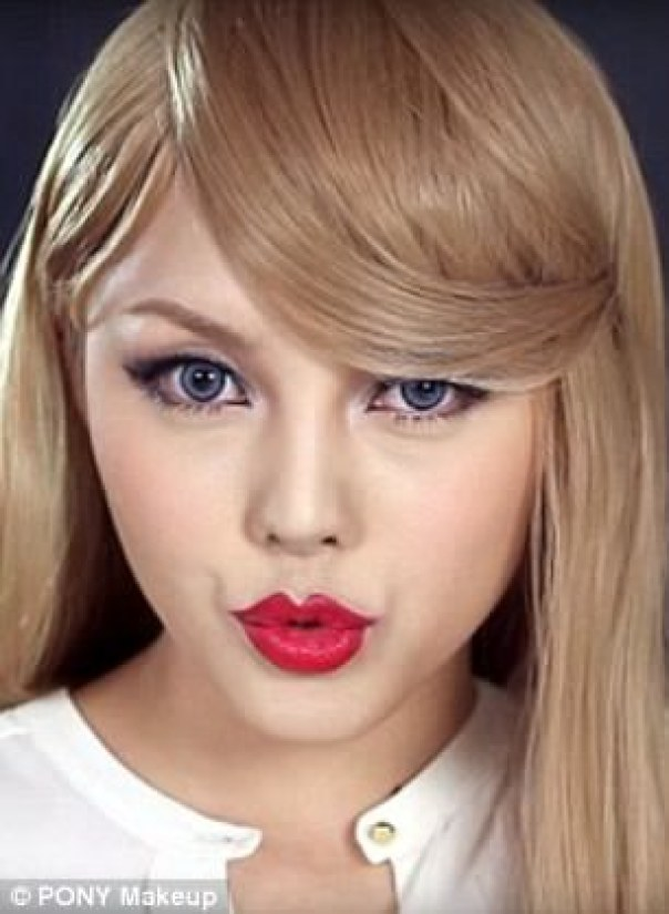 South Korean Beauty Vlogger Hye-Min Park Transforms Herself Into Kylie Jenner