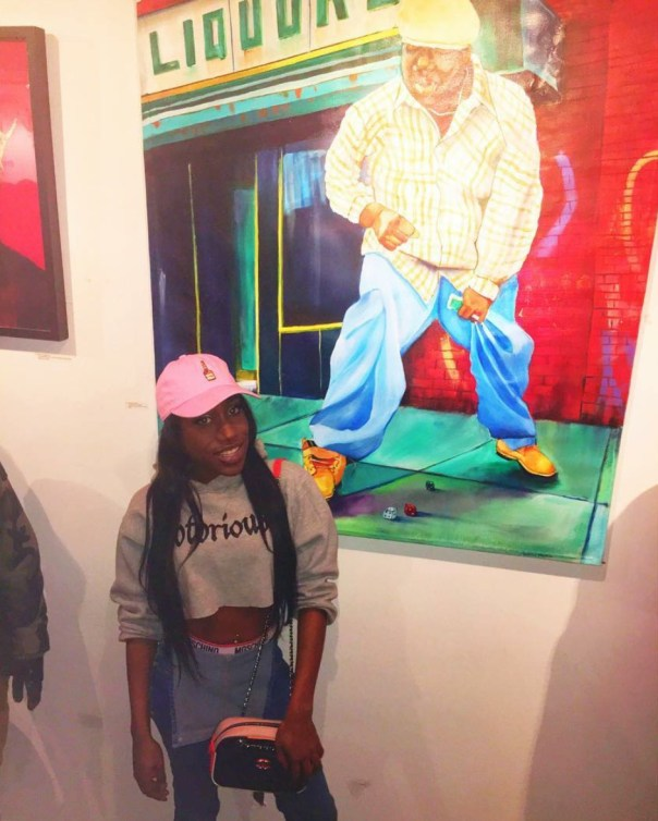 Biggie Smalls Daughter Tyanna Wallace Is All Grow