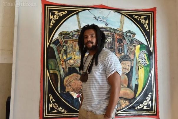 Gay Sex Painting Of Nelson Mandela And Jacob Zuma 2