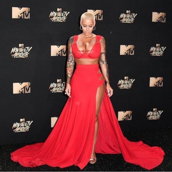Amber Rose At 2017 MTV Movie & TV Awards 2