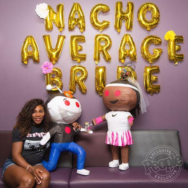 Nacho Average Bride Serena Williams 2-Day Bridal Shower 1