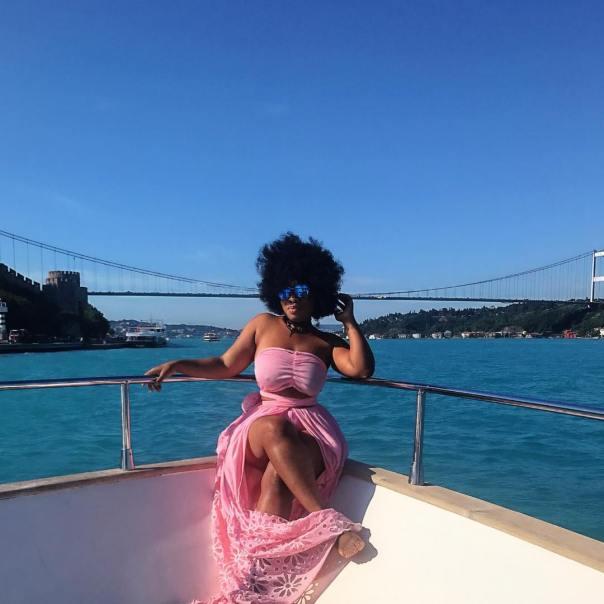 Moesha Boduong Turkey Vacation (1)