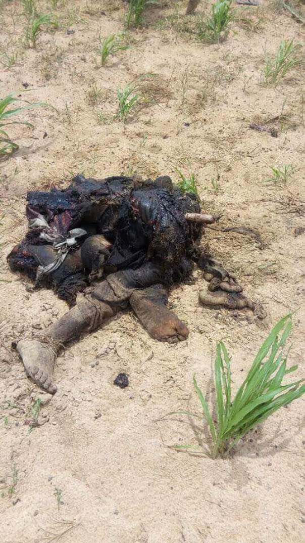 5 Suicide Bombers Who Died Along Mamanti Village In Borno (2)