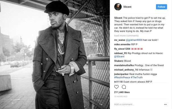 Celebrities Have Reacted To News Prodigy Of Mobb Deep Had Died Aged 42 (2)