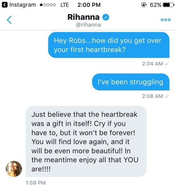 Love Advice Rihanna Gave To Heartbroken Fan (1)