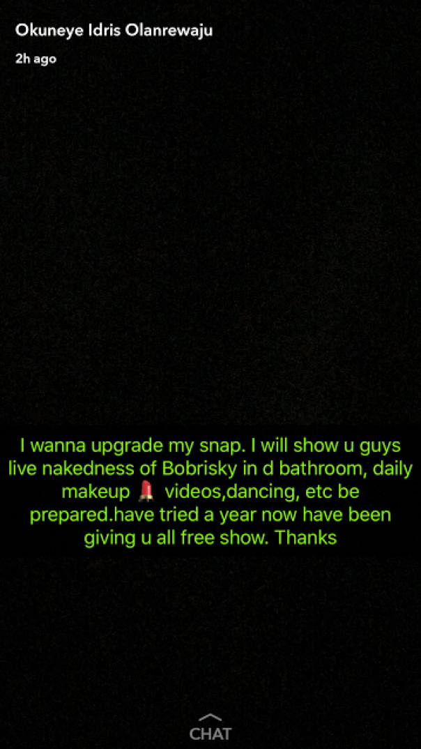 Bobrisky Set To Charge Fans N10K To View His Snaps (2)