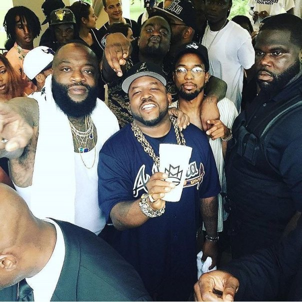 Rick Ross' Biggest Pool Party (1)