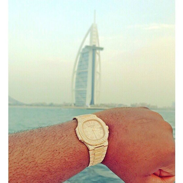 Hushpuppi Shows Off The Real Patek Philippe On His Wrist (2)