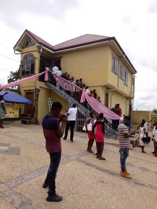 Kojo Nkansah Lilwin Built His Mother This House For Her 70th Birthday (8)