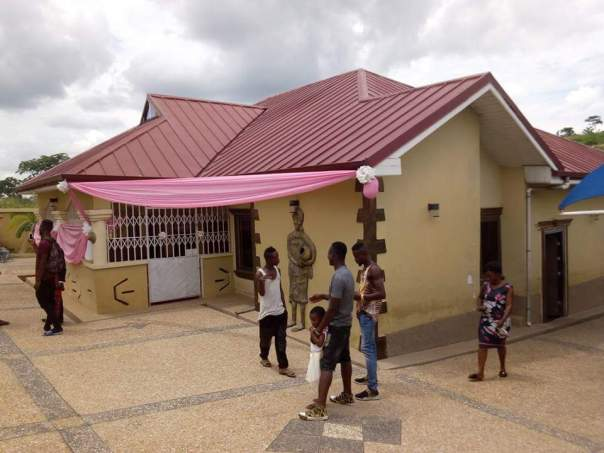 Kojo Nkansah Lilwin Built His Mother This House For Her 70th Birthday (9)