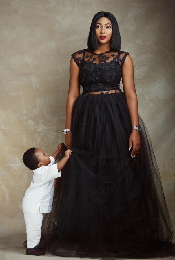 Lilian Esoro And Son Jayden Slay In New Photoshoot (3)