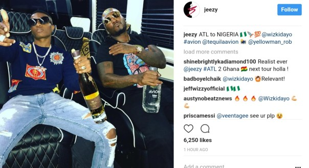Wizkid And American Rapper Young Jeezy Pictured Chilling Together (3)