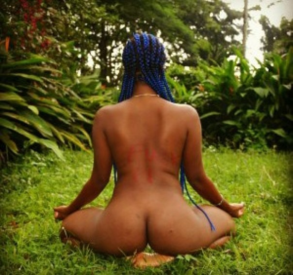 Christabel Ekeh Goes Completely Naked In New Instagram Photos (3)