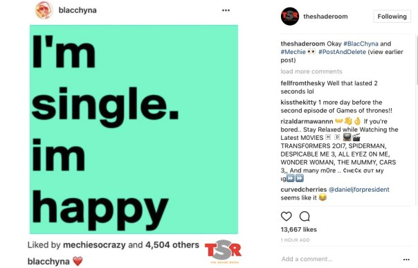 Blac Chyna Reveals Her Relationship Status (1)