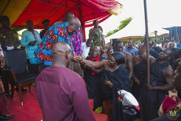 Nana Akufo-Addo Visited Major Maxwell Mahama Murder Site In Denkyira-Obuasi (8)