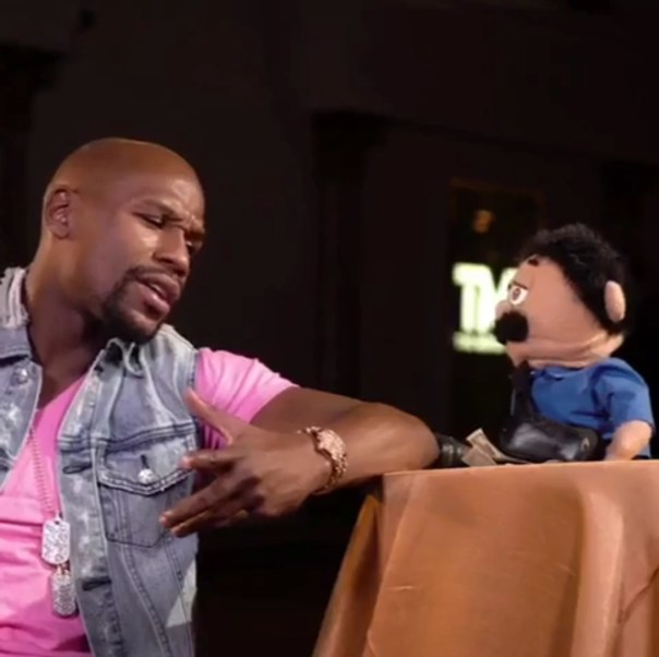 Floyd Mayweather Interview With Diego From Awkward Puppets (1)
