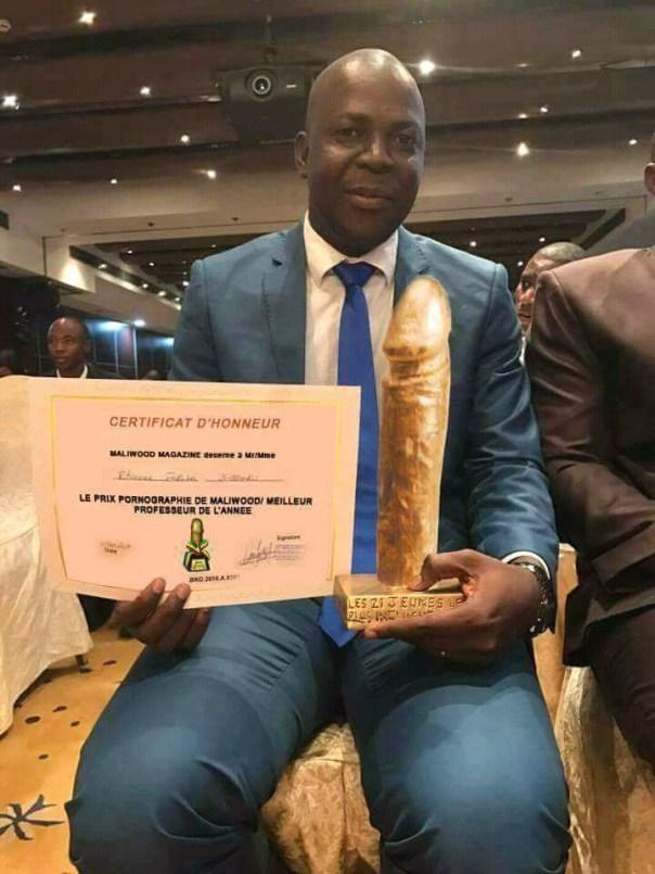 Etienne Farakoï: Malian Teacher Receives Pornography Award and Best Teacher of The Year Award (1)