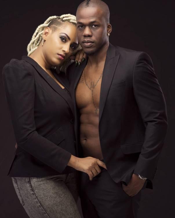 Juliet Ibrahim With Iceberg Slim (2)