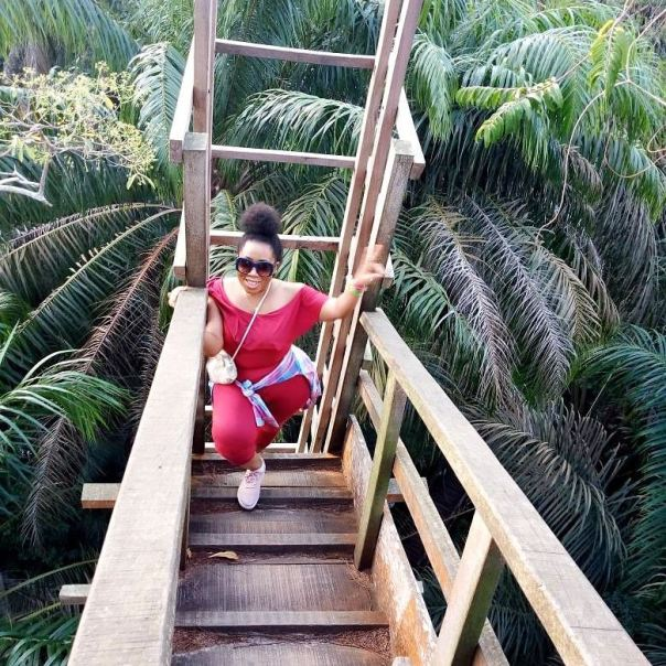 Moyo Lawal Discloses How She Climbed A Tree House And Nearly Slipped Twice (2)