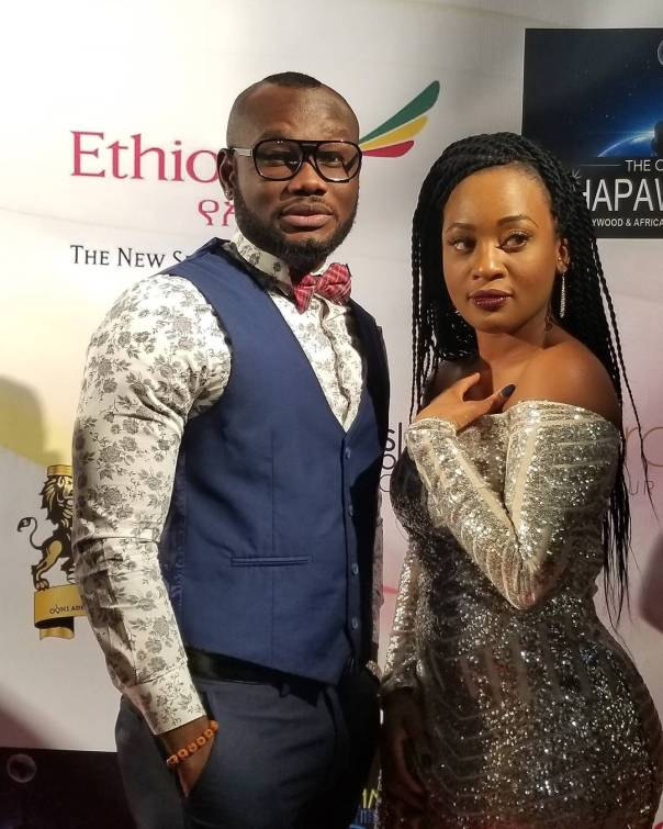 Majid Michel And Prince David Osei Were Spotted Together At The HAPA Awards (3)