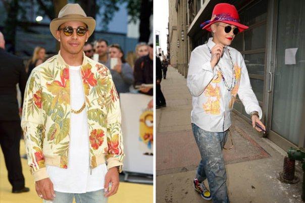 Lewis Hamilton Actually Dresses Like Rita Ora (3)