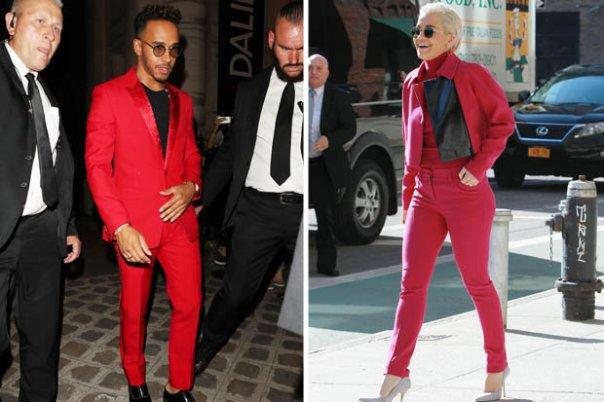 Lewis Hamilton Actually Dresses Like Rita Ora (2)