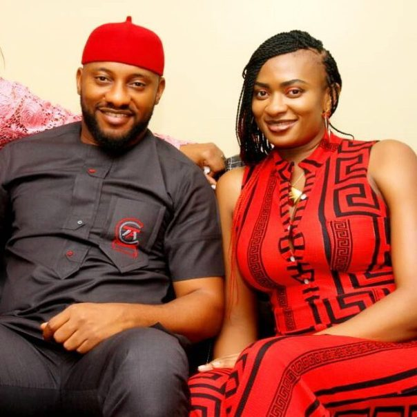 Yul Edochie With Wife May
