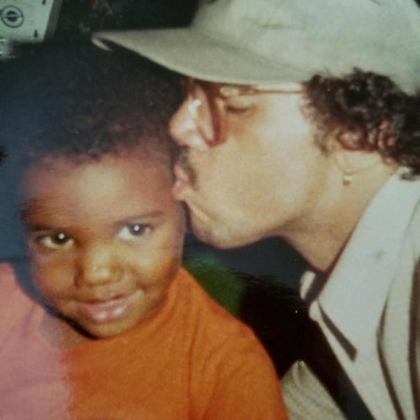 The Game Shares Epic Throwback With His Dad George Taylor