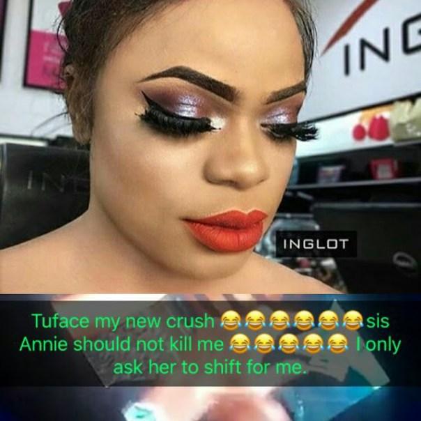Bobrisky Crushing On Tuface (2)