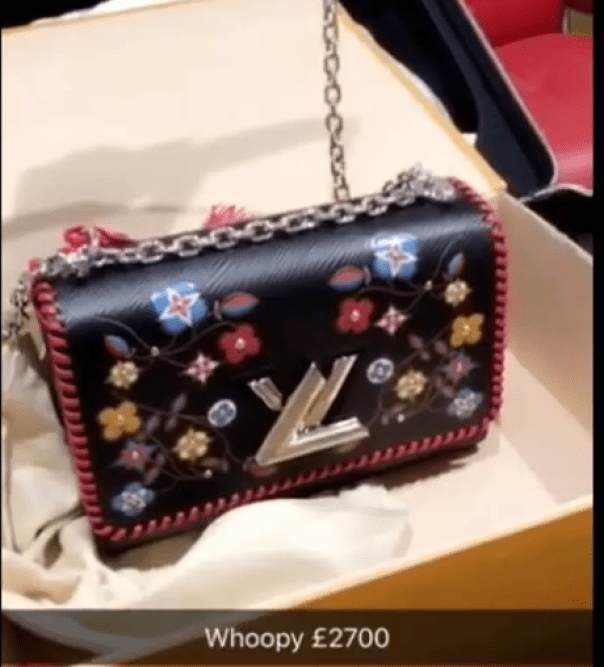 Mimi Orjiekwe Shows Off Her N1.3m Louis Vuitton Bag (2)