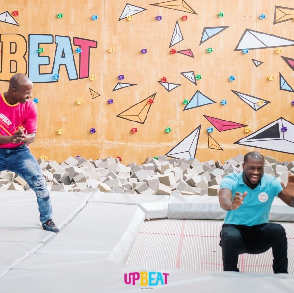 Peter Okoye Chilling At Upbeat Centre (7)