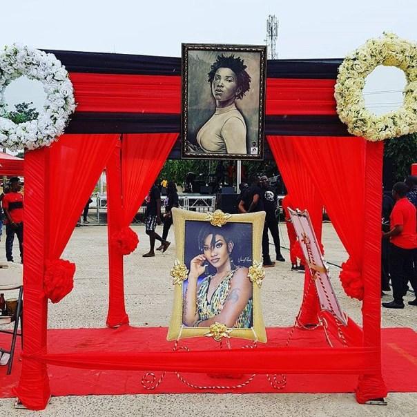 Ebony Reigns One Week Memorial Service (2)