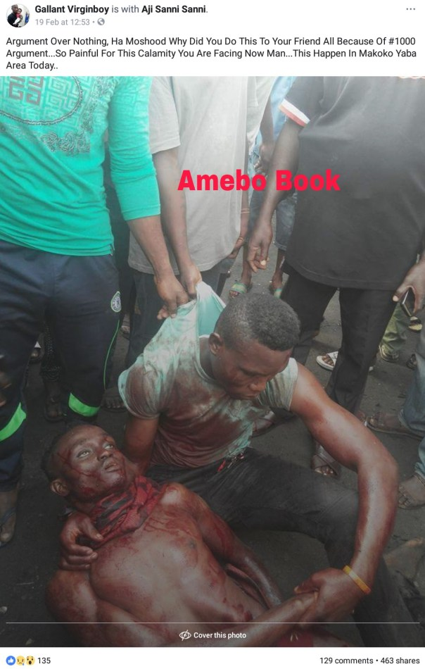 Man Stabs His Friend To Death Over N1000 Argument (2)