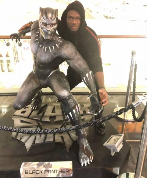 Prince David Osei Channels Black Panther (2)