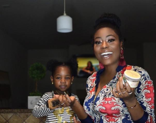 Sophia Momodu And Daughter Imade In Sweet Snap (2)