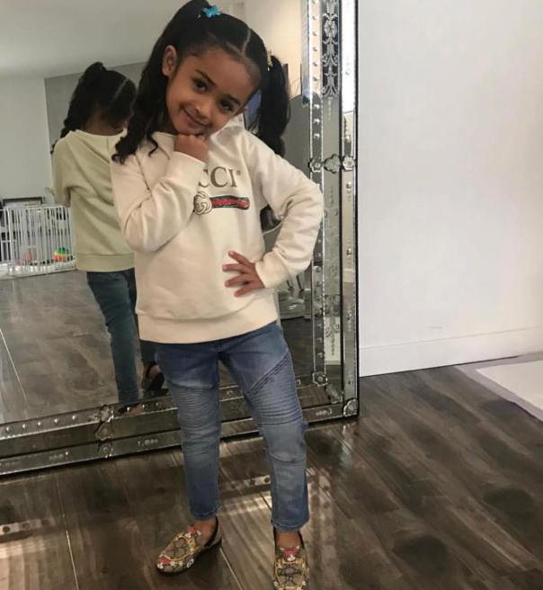 Chris Brown's 3-Year-Old Daughter (2)