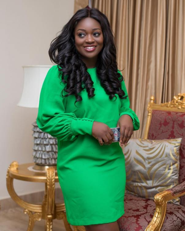 Jackie Appiah On Set Red Carpet The Movie