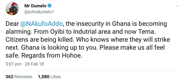 John Dumelo Calls Out Nana Akufo-Addo Over Robbery Attacks (2)
