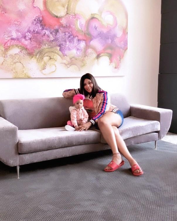 Tonto Dikeh And Mimi Orjiekwe Hang Out On Mother's Day (4)