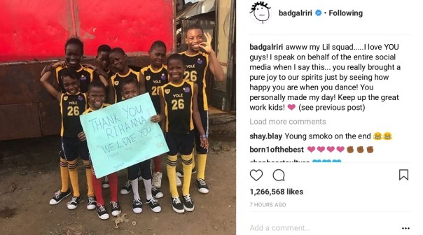 Rihanna Recognizes Kid Dancers From Ikorodu (2)