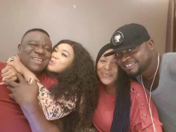 Rachael Okonkwo Kissing Mr Ibu (2)