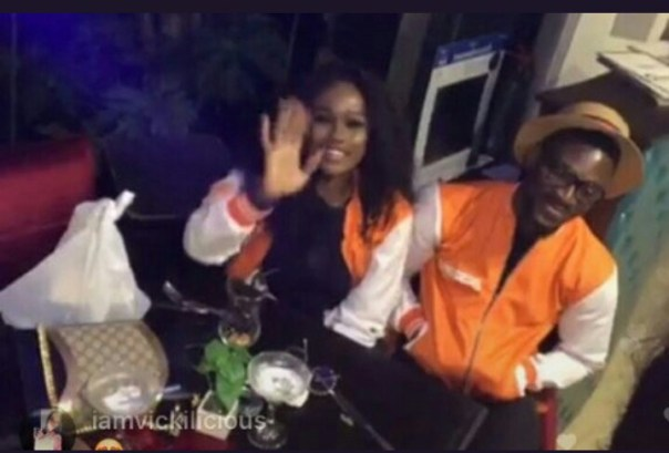 Tobi And Cee-C Reconcile At PayPorte Dinner (2)