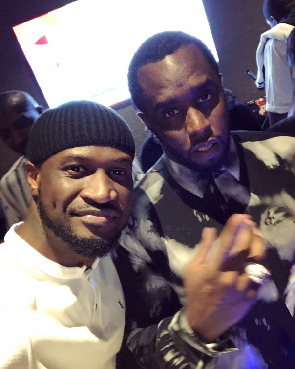 Peter Okoye Chilling With Diddy And Cassie In Abu Dhabi (2)